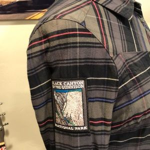 Black Canyon Gunnison National Park Flannel